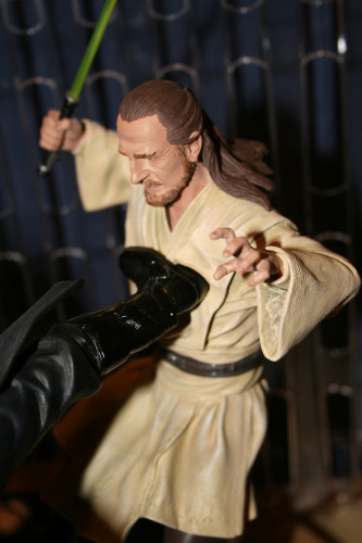 Star Wars Duel of the Fates Diorama Statue 007