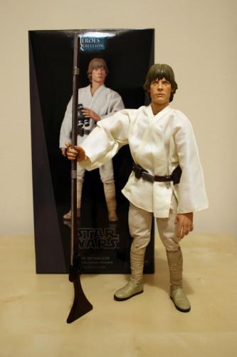 Star Wars Luke Skywalker Episode 4 12 Inch Figure 001
