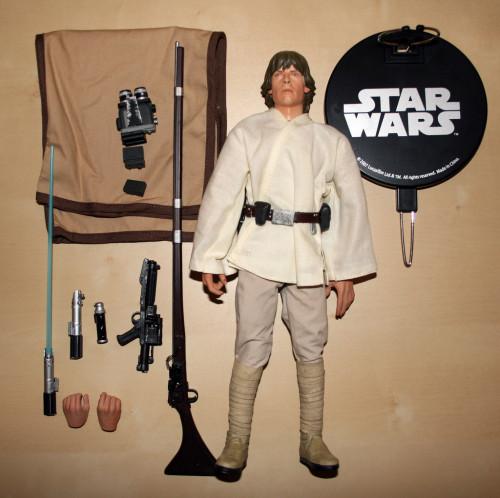 Star Wars Luke Skywalker Episode 4 12 Inch Figure 007