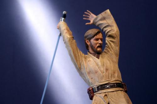 Star Wars Obi-Wan Kenobi Vs Anakin Skywalker Diorama 006