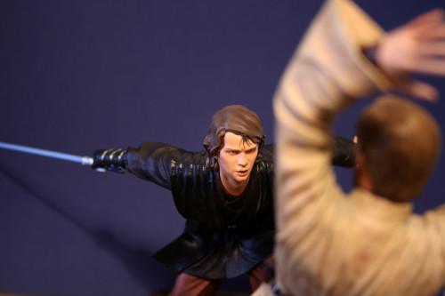 Star Wars Obi-Wan Kenobi Vs Anakin Skywalker Diorama 008