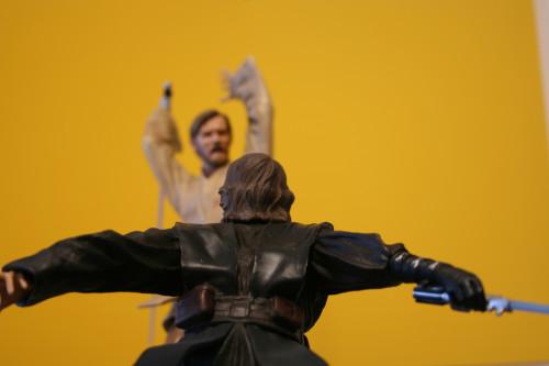Star Wars Obi-Wan Kenobi Vs Anakin Skywalker Diorama 010