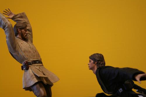 Star Wars Obi-Wan Kenobi Vs Anakin Skywalker Diorama 011