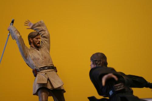 Star Wars Obi-Wan Kenobi Vs Anakin Skywalker Diorama 012