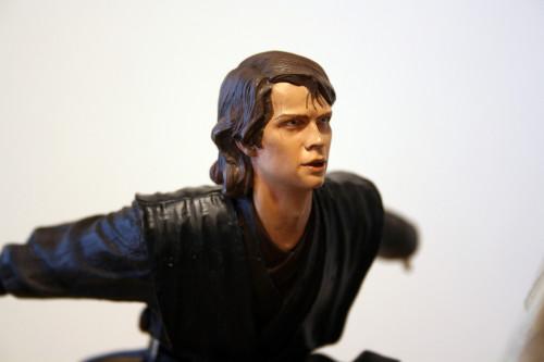 Star Wars Obi-Wan Kenobi Vs Anakin Skywalker Diorama 016