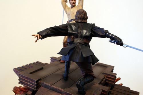 Star Wars Obi-Wan Kenobi Vs Anakin Skywalker Diorama 017
