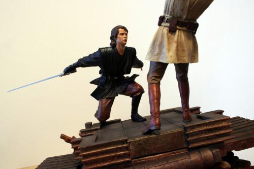 Star Wars Obi-Wan Kenobi Vs Anakin Skywalker Diorama 018