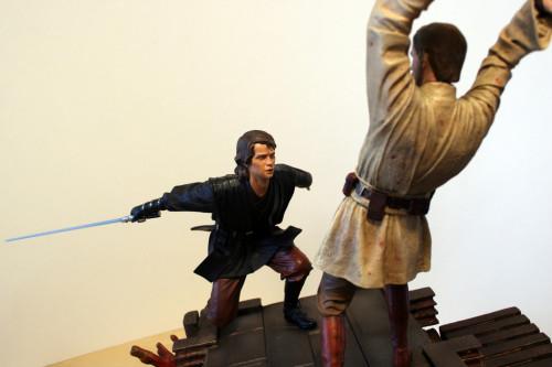 Star Wars Obi-Wan Kenobi Vs Anakin Skywalker Diorama 019