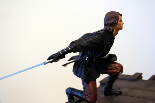 Star Wars Obi-Wan Kenobi Vs Anakin Skywalker Diorama 020
