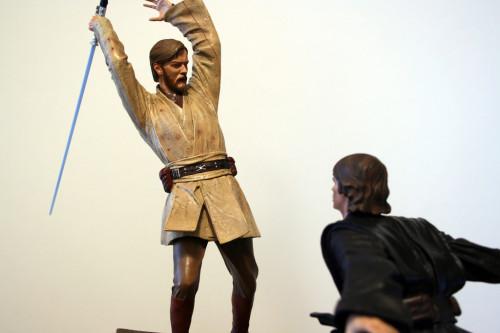 Star Wars Obi-Wan Kenobi Vs Anakin Skywalker Diorama 022