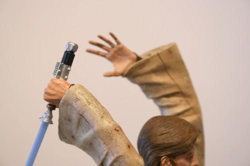 Star Wars Obi-Wan Kenobi Vs Anakin Skywalker Diorama 027