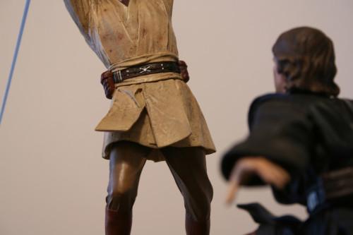 Star Wars Obi-Wan Kenobi Vs Anakin Skywalker Diorama 031