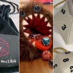 Fandomestic: 1D12 Fan-Made Dice Bags